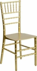 Lot Of 20 Elegence Stacking Chiavari Chairs Assorted Colors Avail See Descrip