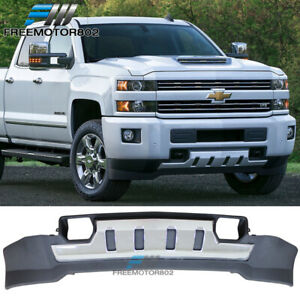 Fits 15 18 Chevy Silverado 2500 3500 3500hd Front Skid Plate Chrome