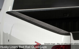 Quad Caps Side Bed Rail Protectors 2007 2013 Chevy Silverado 1500 5 8ft Bed