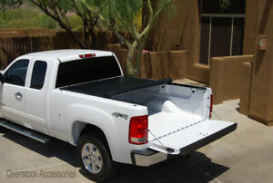 Premium Roll up Tonneau Cover 2007 2013 Chevy Silverado gmc Sierra 1500 5 8 Bed