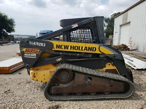 2010 New Holland C185 Skid Steer Track Low Hour