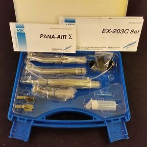 Dental Nsk Style Pana Max High Speed Handpiece Kit Ex203c 4 Hole open Box
