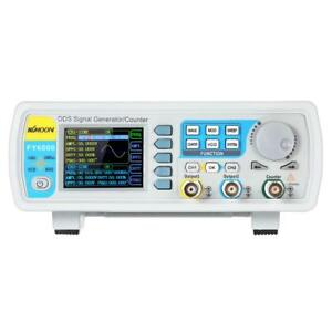 Fy6800 20 60mhz Precision 2 Channel Dds Function Signal Generator Counter W7p8