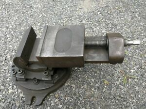 4 Universal Vise Company Compound Mill Vise Tilts And Swivels