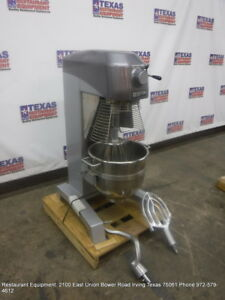 Doyon Em30 Bakery Dough Mixer 30 Quart With Bowl Paddle Whip Hook