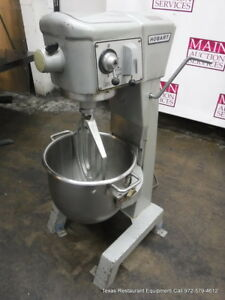 Hobart D 300 Donut Dough Mixer 30 Quart With Bowl Paddle 115 Volts