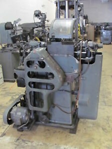 Strohm M 105 Swiss Automatic W Two Spindle Drilling tapping Attachment tornos