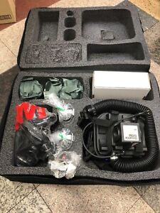 3m Breathe Easy Turbo Vest mounted Powered Air Purifying Respirator Kit W Case