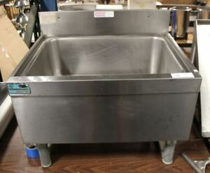 Supremetal Ice Bin Stainless Steel Construction On Stand Manufacturer