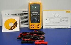 New Fluke 724 Temperature Calibrator Nist Calibrated With Leads And Warranty