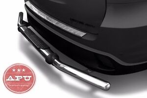 Apu 01 20 Toyota Highlander Rear Bumper Guard Stainless Single Tube With Pad