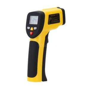 Non contact Ir Digital Infrared Thermometer Double Laser Point 50 1050 c C4z7