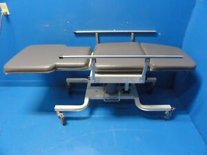 Biodex 056 605 Deluxe Ultrasound Table W Side Rail Height Adjustable 16421