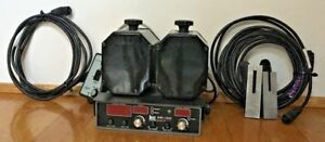 Kustom Signals Pro 1000ds Police Radar Unit 2 Antennas Tuning Forks Cables