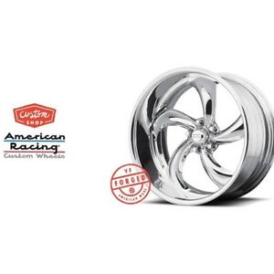 20x12 American Racing Forged Vf 489 Polished Wheel Chevy Ford Dodge Mopar Gm