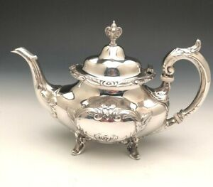 Burgundy By Reed Barton Tea Pot Sterling Silver