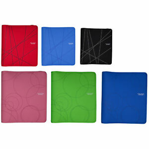 Five Star 29058 8 1 2 X 11 3 Ring Zipper Binder Assorted Colors