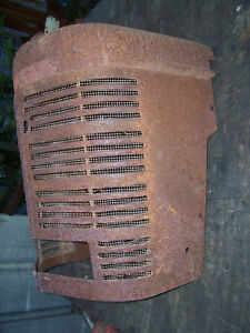 Original Ih Farmall H Tractor grille Screen rat Rod Or Farm House Art