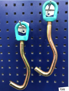 Mo Clamp Style 3220 Round Nose Sheet Metal Hook Pair L Hook Auto Body Frame Tool