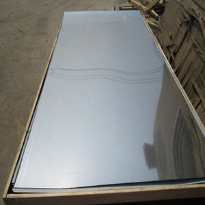 Mirror 8 Finish Stainless Steel Sheet 24ga X 4 X 10