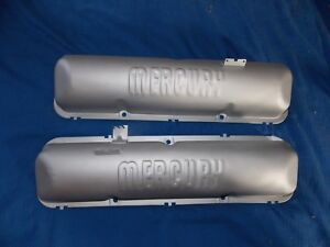 Mercury Script Valve Covers Fe 352 360 390 406 427 428 Maurader Cyclone Ford