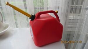 New Old Style Vented Scepter 5 3 Gallon Plastic Gas Can Spout Spout Cap