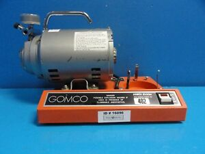 Allied Healthcare Gomco 402 Aspirator vacuum Pump Table Top Suction Pump 16096