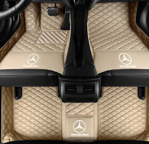 2005 2019 Mercedes benz All Models Luxury Custom Waterproof Floor Mats