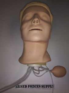 Laerdal Resusci Anne Airway Management Manikin Head Training Simulator Cpr Emt