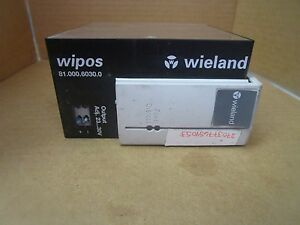 New Wieland Wipos Power Supply Module 81 000 6030 0 24v Dc 5a 5 Amp 115 120 Vac