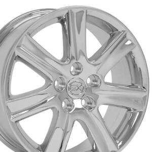 17 Rims Fit Lexus Es 350 Style Chrome Wheels 74190 Set