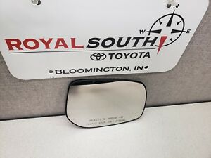 Toyota Corolla Mirror Glass Right Side Genuine Oe Oem
