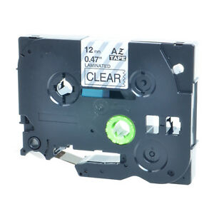 20pk Tz Tze 131 Tz131 Black On Clear Label Tape For Brother P touch Pt 1880 1 2