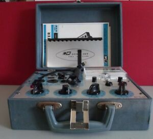 B k Dyna Jet Tube Tester Model 606 With Instruction Manual Paperwork