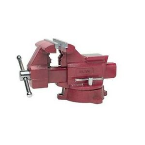 Wilton 674 4 1 2 inch Jaw Width By 4 inch Opening Utility Workshop Vise