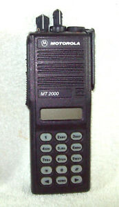 Motorola Mt2000 Vhf 136 178 Mhz 160 Channel Portable Radio H01kdh9aa7an R02 03