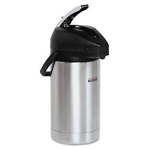 Bunn o matic 3 Liter Lever Action Airpot Stainless Steel black