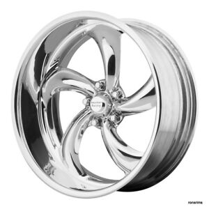 20x8 5 American Racing Forged Vf 489 Polished Wheel Chevy Ford Dodge Mopar Gm