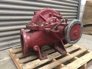 Worthington Splitcase Model 4lr 11 4x6x11 Single Stage Pump Located In Mexico