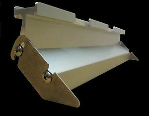 16 Flood Bar For M r Press Silk Screen Squeegee Aluminum Printing Squeegee