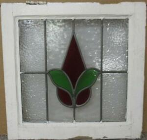 Old English Leaded Stained Glass Window Gorgeous Abstract Drop 18 25 X 17 75