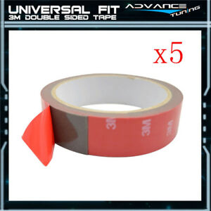 5 Rolls Auto Trunk Acrylic 3m Double Sided Tape Attachment 1 Width 90 Length