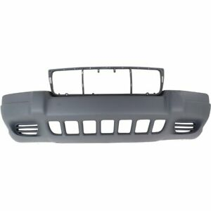 Bumper Cover For 1999 2003 Jeep Grand Cherokee Laredo Sport Front Textured