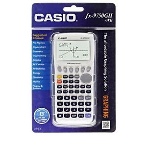 Graphing Calculator Casio 21 digit Lcd Icon based Menu With Usb Connectivity