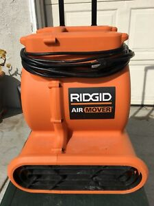 Ridgid Air Mover Wheeled 3 speed Am25600 Blower Fan