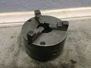 Cushman 5 Three jaw Lathe Chuck 2 25 8 Mount Fits Logan Southbend