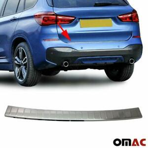 Fits Bmw X1 F48 2016 2021 Chrome Rear Bumper Guard Trunk Sill Protector S Steel