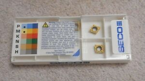 Seco Carbide Inserts Ccgt 21 50 f1 Grade Cp500 Sealed Pack Of 10