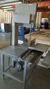 2012 Hobart 6801 Commercial Vertical Meat Saw 90 Day Warranty