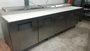 True Tpp 119 119 5 Pizza Prep Table 4 Doors Holds 15 1 3 Size Pans warranty